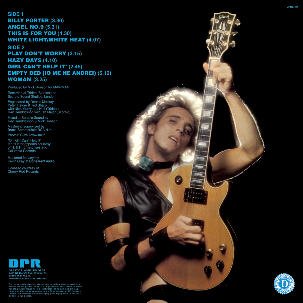 Mick Ronson Play Don't Worry - YouTube