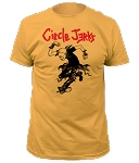 Circle Jerks - Skank Man yellow fitted tee