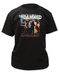 The Damned - Machine Gun Etiquette tee