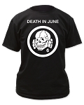 Death in June - Totenkopf 6 Logo tee