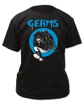 Germs - Leather Skeleton tee