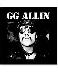 GG Allin printed patch