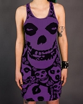 Misfits dress - Purple