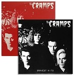 SOLD OUT! The Cramps - Gravest Hits (Opaque Red vinyl or 200 gram Black vinyl)