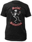 Social Distortion Skelly Logo Tee