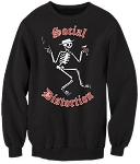 Social Distortion Skelly Crew Neck Sweatshirt