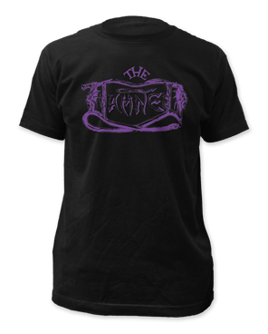 The Damned - Purple Logo fitted tee