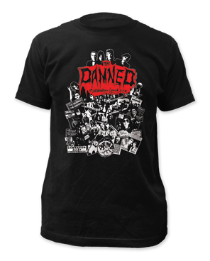 The Damned – Lyceum '81 fitted tee Limited Quantity