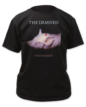 The Damned – Strawberries tee Limited Quantity