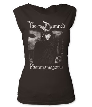 The Damned - Phantasmagoria women's cut tee Limited Quantity