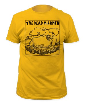 Dead Milkmen - Big Lizard fitted tee